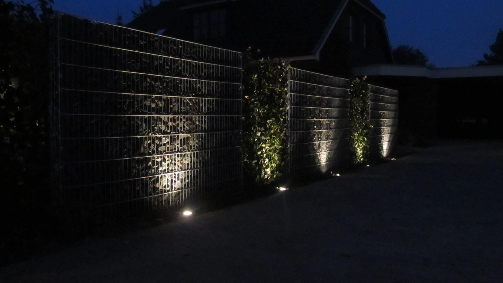 Beleuchtung Grüne Oase